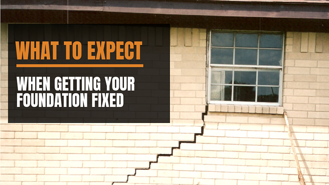 what to expect when getting your foundation fixed