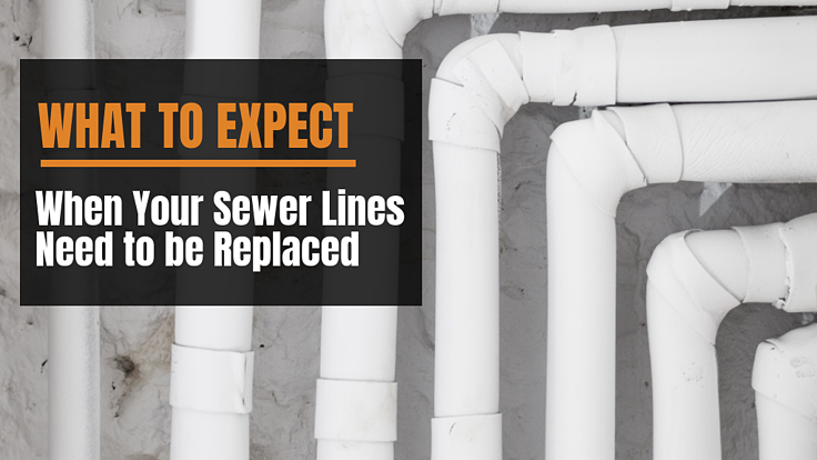 what to expect when your sewer lines need to be replaced