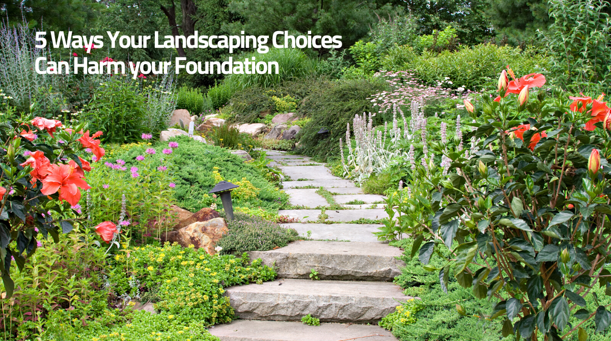 5 Ways Your Landscaping Choices Can Harm your Foundation