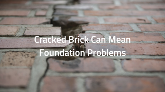 Cracked Brick Can Mean Foundation Problems
