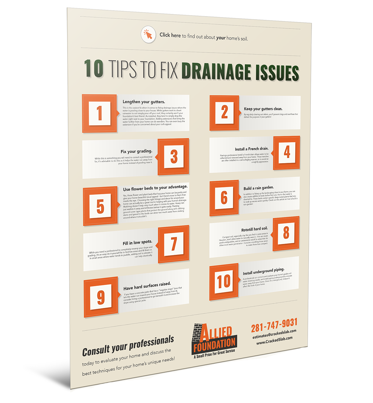 Home Drainage Tips