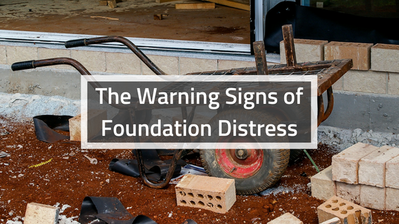 The Warning Signs of Foundation Distress