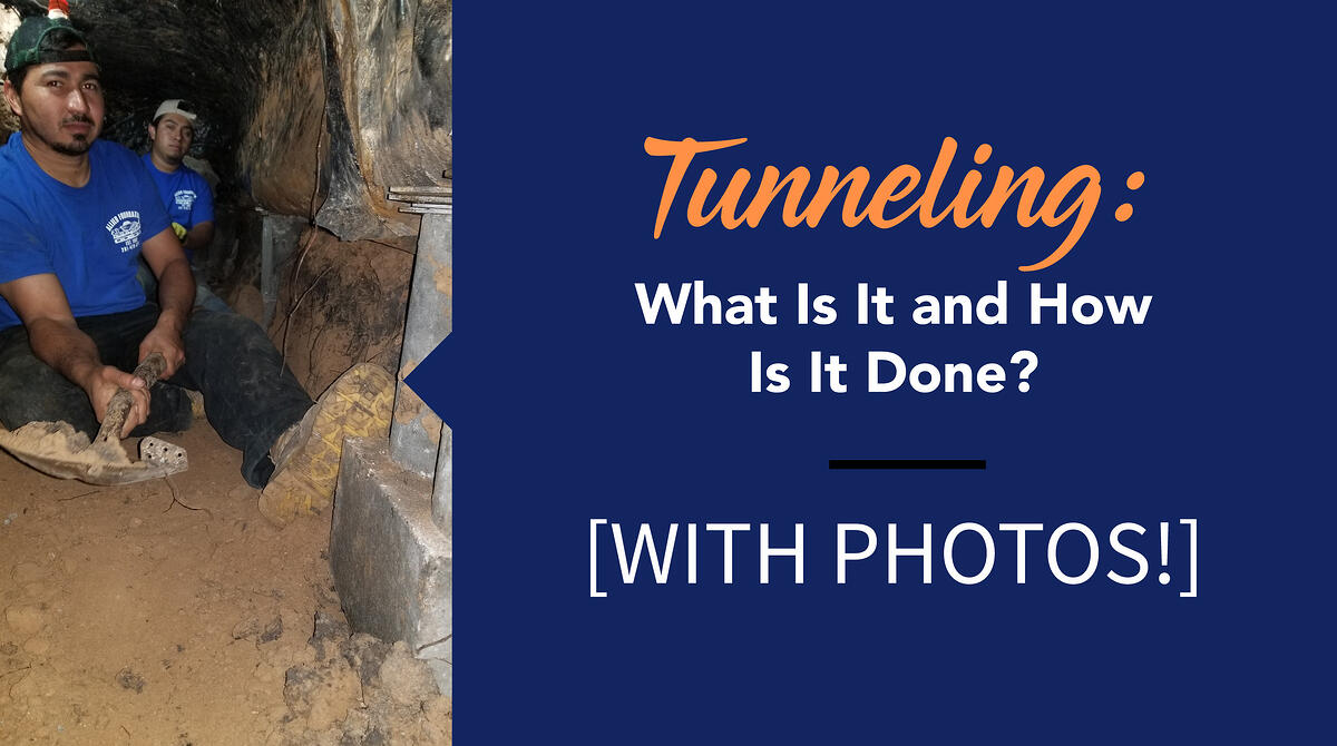 Tunneling - What is It and How is It Done?