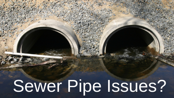 how to know if you have issues with your sewer pipes