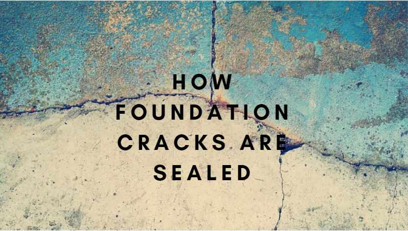 How Foundation Cracks are Sealed