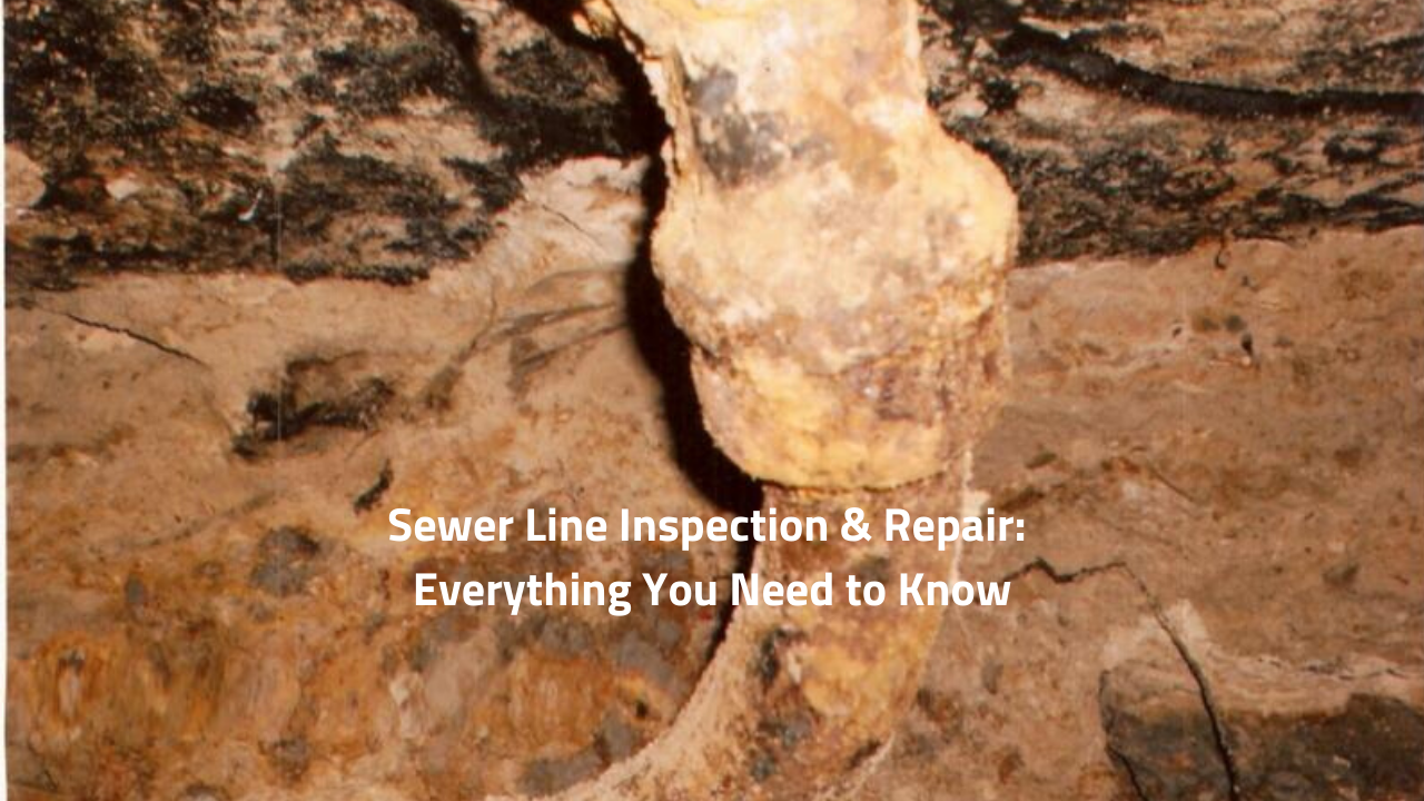 Sewer Line Inspection & Repair: Everything You Need to Know