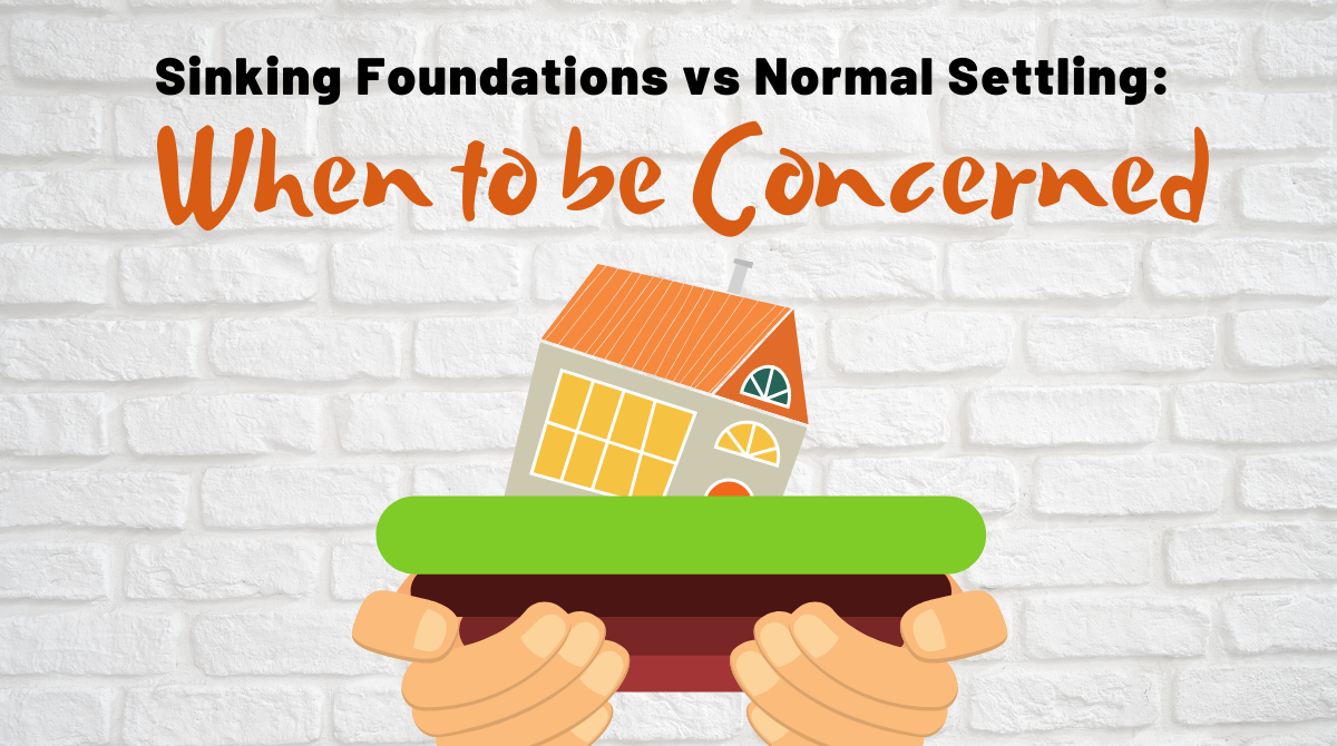 Sinking Foundations vs Normal Settling: When to be Concerned