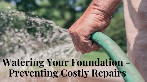 Watering Your Foundation - How to Prevent Costly Repairs