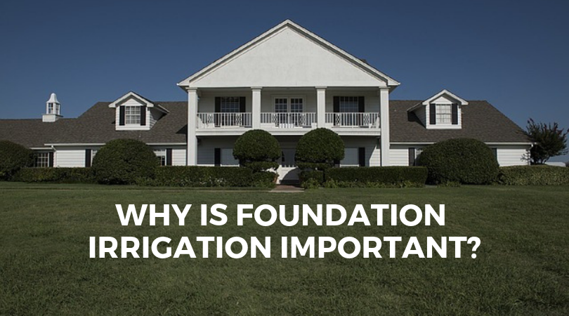 Why is Foundation Irrigation Important?