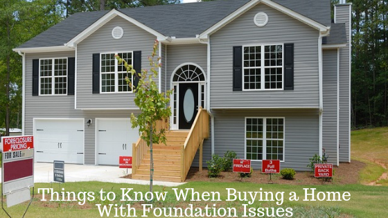 Things to Know When Buying a Home With Foundation Issues